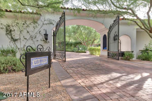 Welcoming Entry and Pedestrian Gate