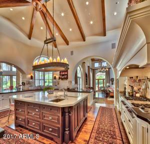 Kitchen Adjoins Family Room