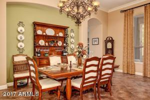 Dining room w/entrance into kitchen