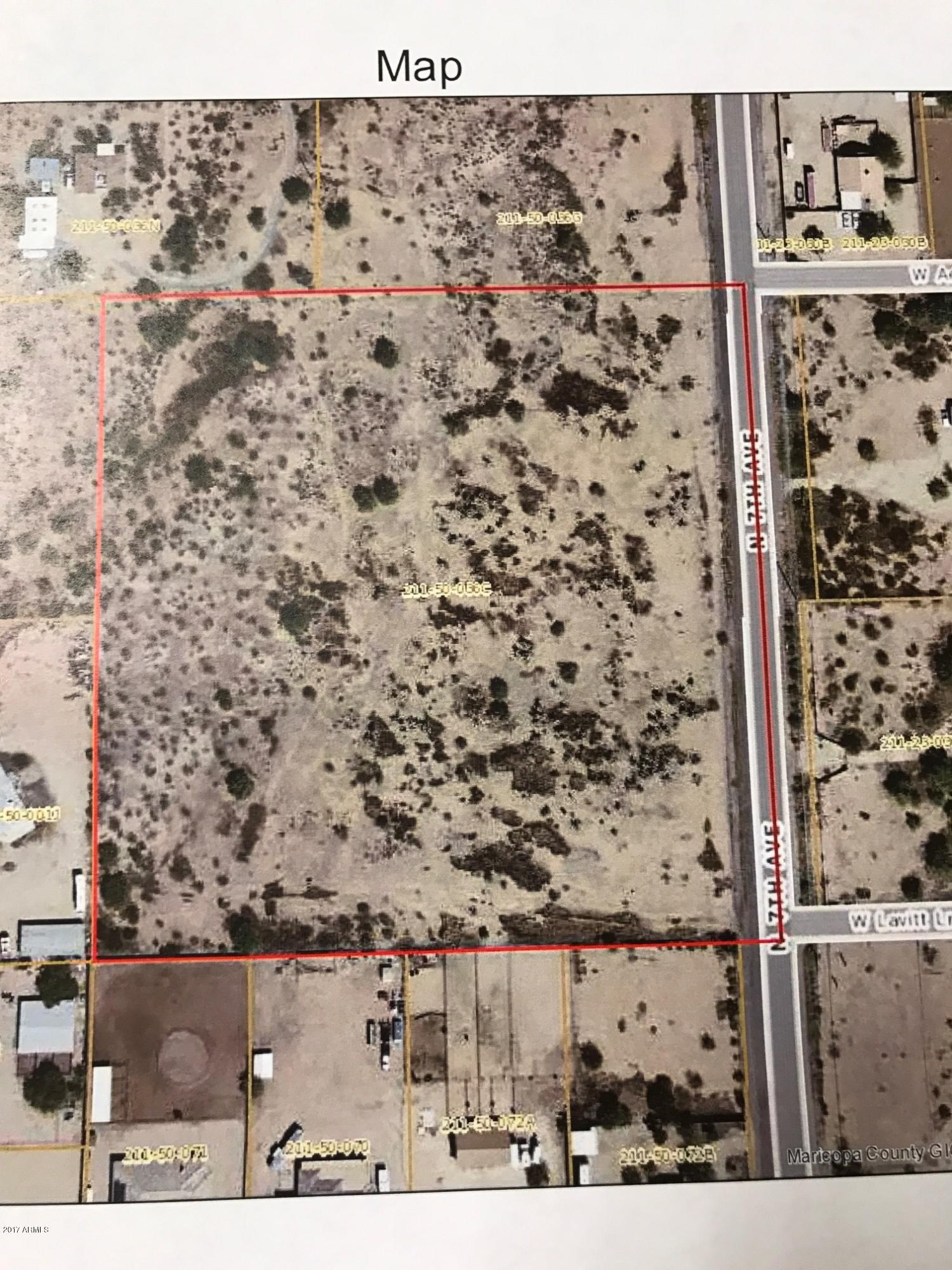 10 acres N 7 Avenue, one of homes for sale in Anthem