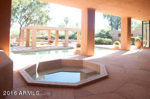 patio and spa