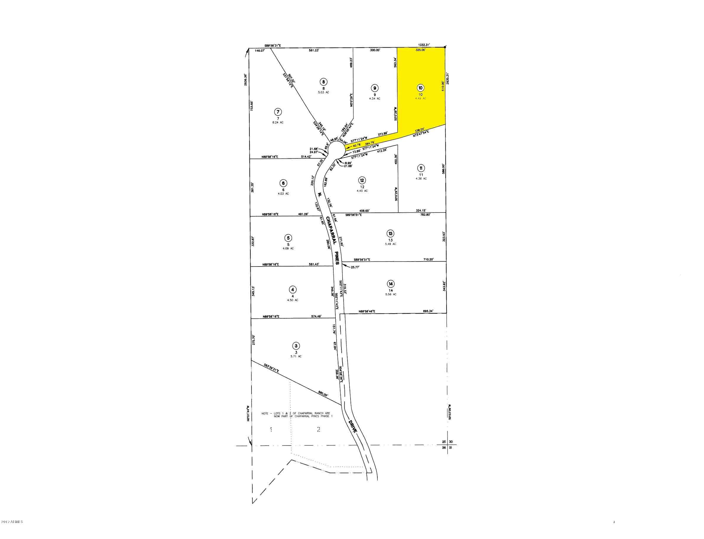 MLS 5675143 809 N Chaparral Pines Drive, Payson, AZ Payson AZ Equestrian