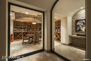 Wine Room Entry
