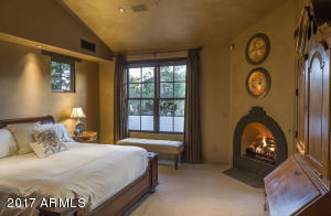 Master Suite with Hearth