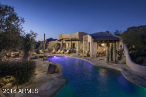 26 Evening Pool and Patio