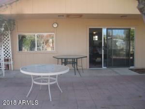 back patio area off master