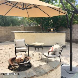 Outdoor Bar and Firepit