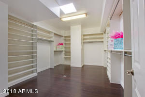 Master Closet with Built In's