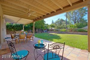 Backyard, Covered Patio