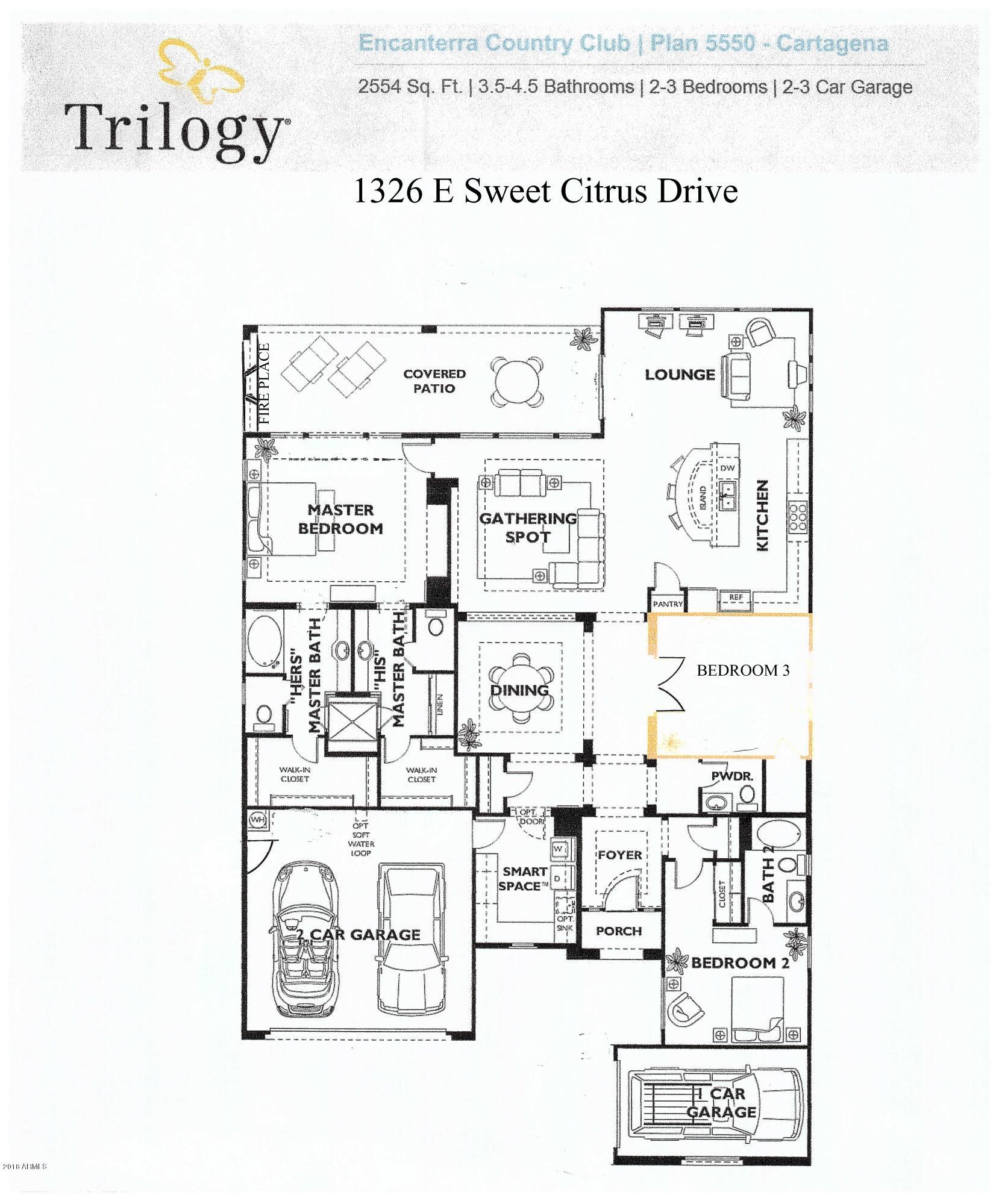 MLS 5738780 1326 E SWEET CITRUS Drive, San Tan Valley, AZ 85140 San Tan Valley AZ Three Bedroom