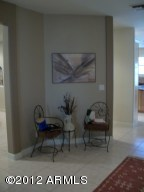 Sitting Area in Dinning Room
