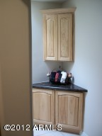Hallway Corner Cabinet