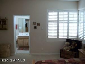 Guest Master Bedroom with corner window