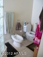 Master Bath Bidet  & Toilet