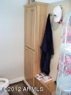 Master Bath Linen & Clothes Hamper