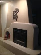 west side 2 sided fire place