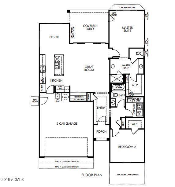 MLS 5761694 2642 E MARCOS Drive, Casa Grande, AZ 85194 Casa Grande AZ Newly Built