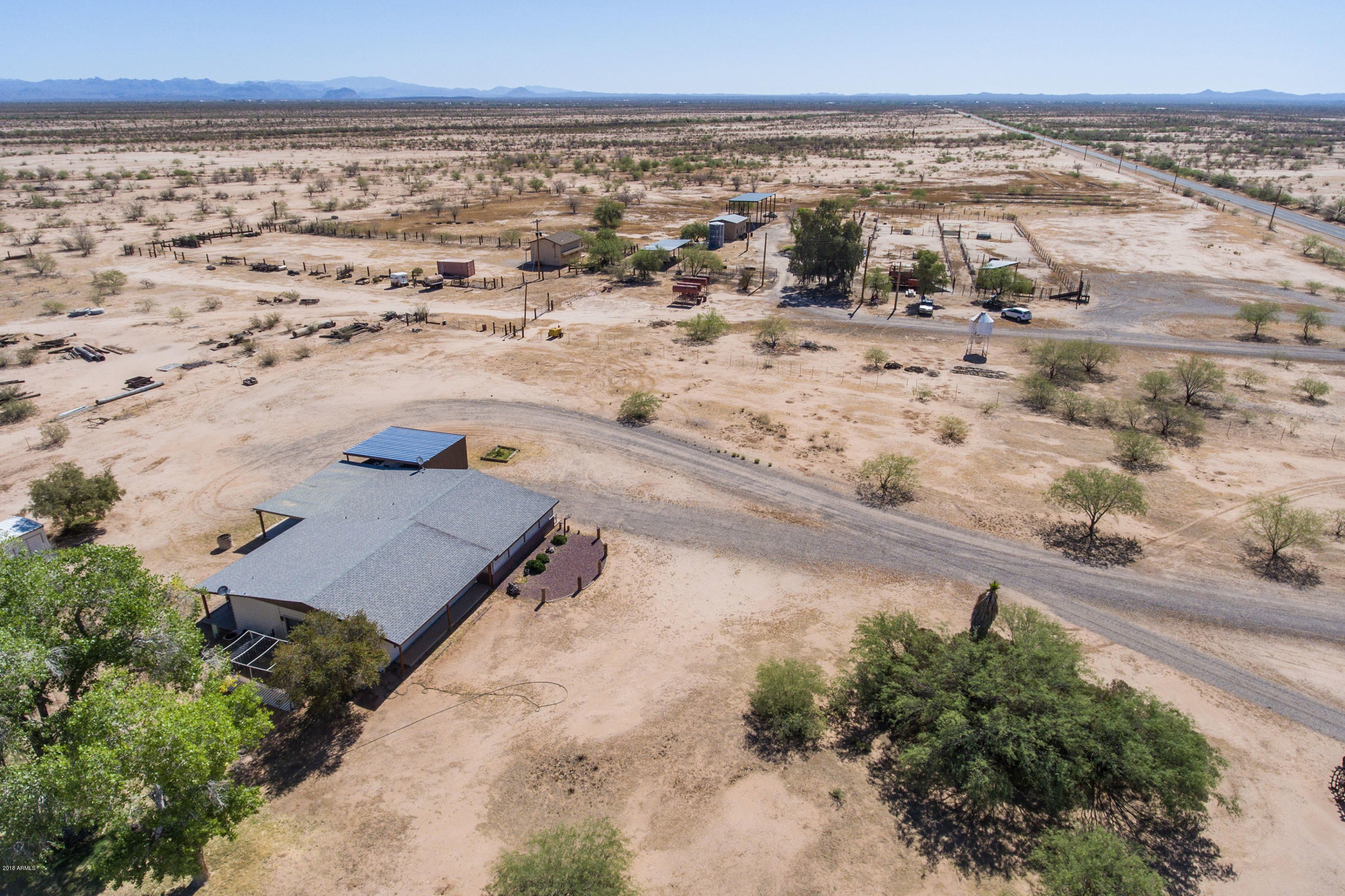 MLS 5737194 16016 E CACTUS FOREST Road, Florence, AZ Florence Horse Property for Sale