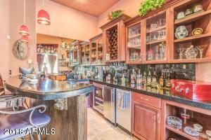 Theater room bar