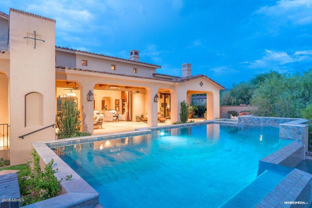 MLS 5779202 4708 E Crystal Lane, Paradise Valley, AZ 85253 Paradise Valley AZ Custom Home