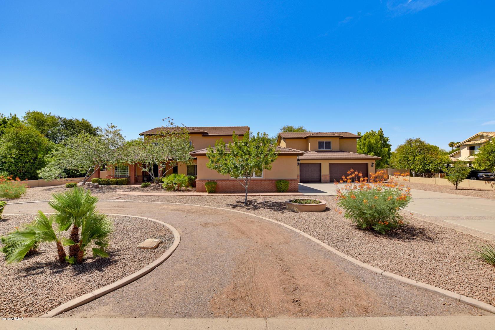 MLS 5798319 2405 W LAREDO Street, Chandler, AZ Chandler Horse Property for Sale
