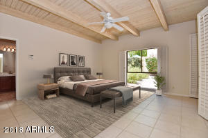 Master suite w/virtual furniture