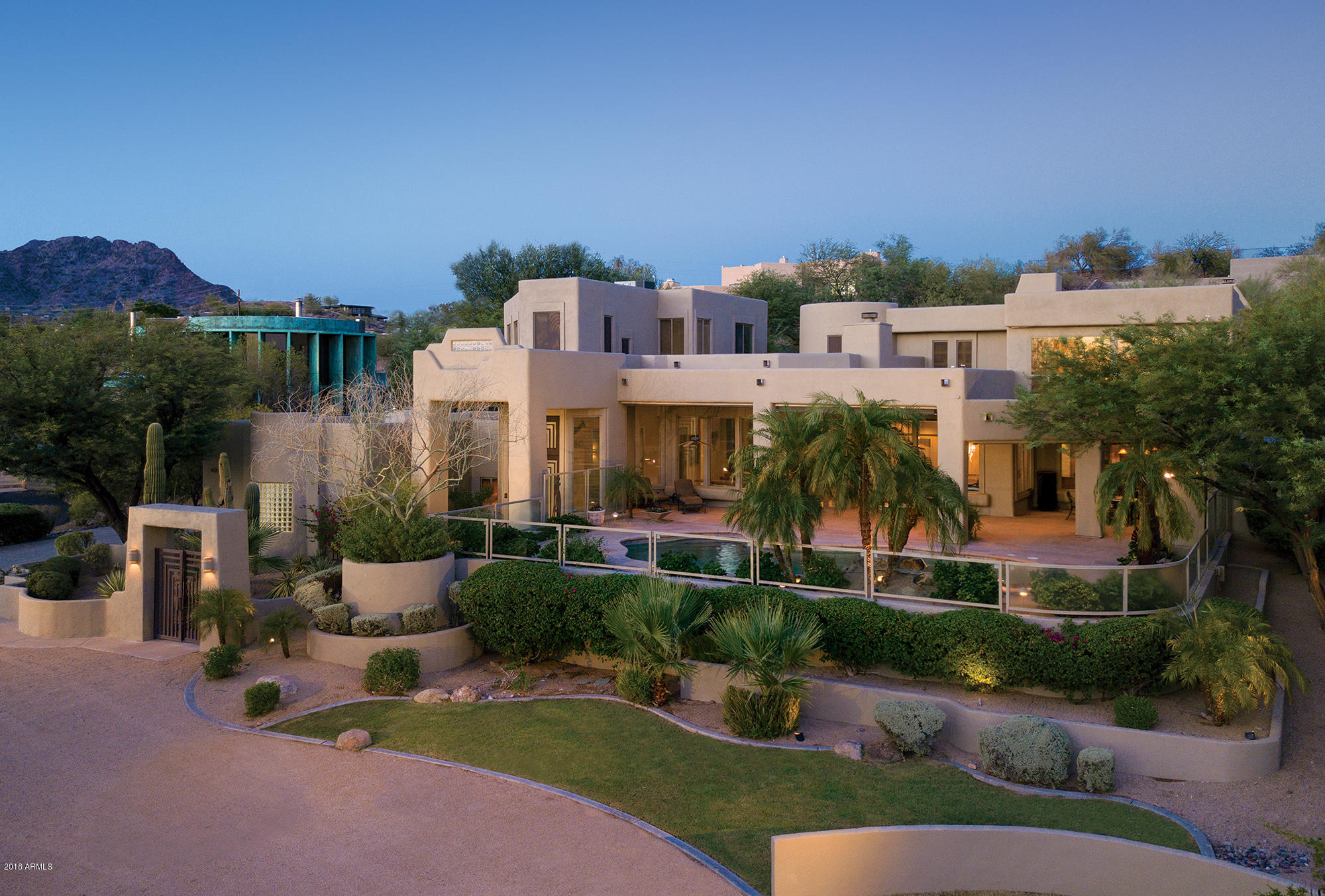 Single Family Home For Sale At 5739 N Canyon Drive 5739 N Canyon Drive  Phoenix,