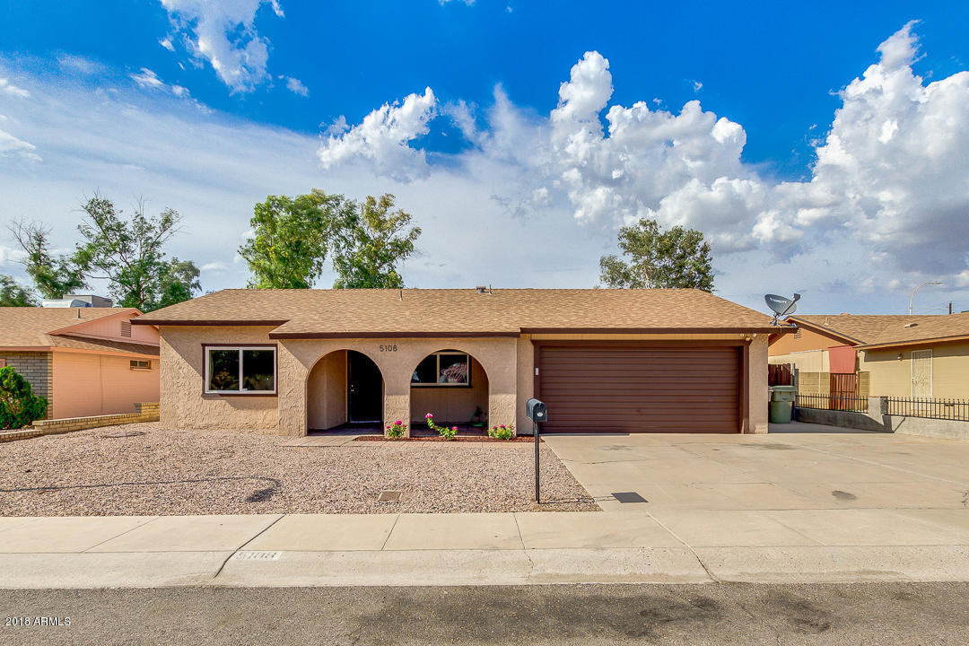 Photo of 5108 W BERYL Avenue, Glendale, AZ 85302