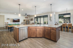 Kitchen Island & Great Room