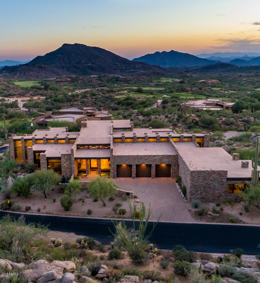 Photo of 10092 E BOULDER BEND Road, Scottsdale, AZ 85262