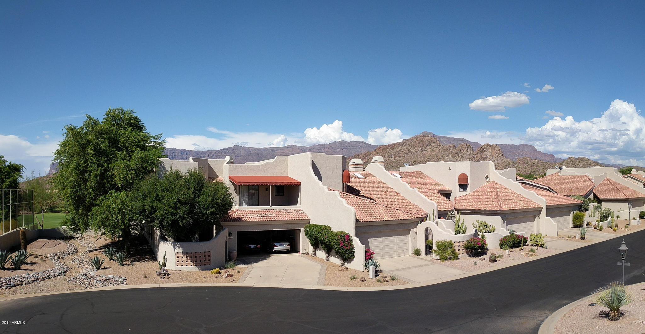 MLS 5815576 6132 S Fairway Place, Gold Canyon, AZ Gold Canyon AZ Condo or Townhome