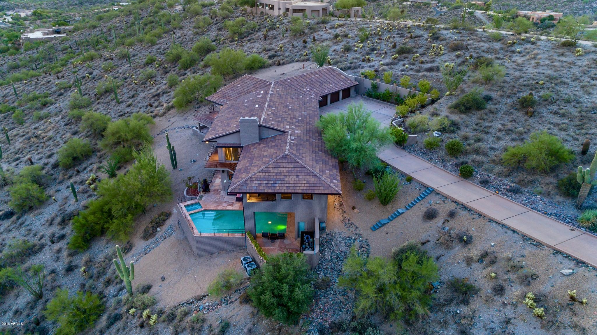 Photo of 8702 E Silver Saddle Drive, Carefree, AZ 85377