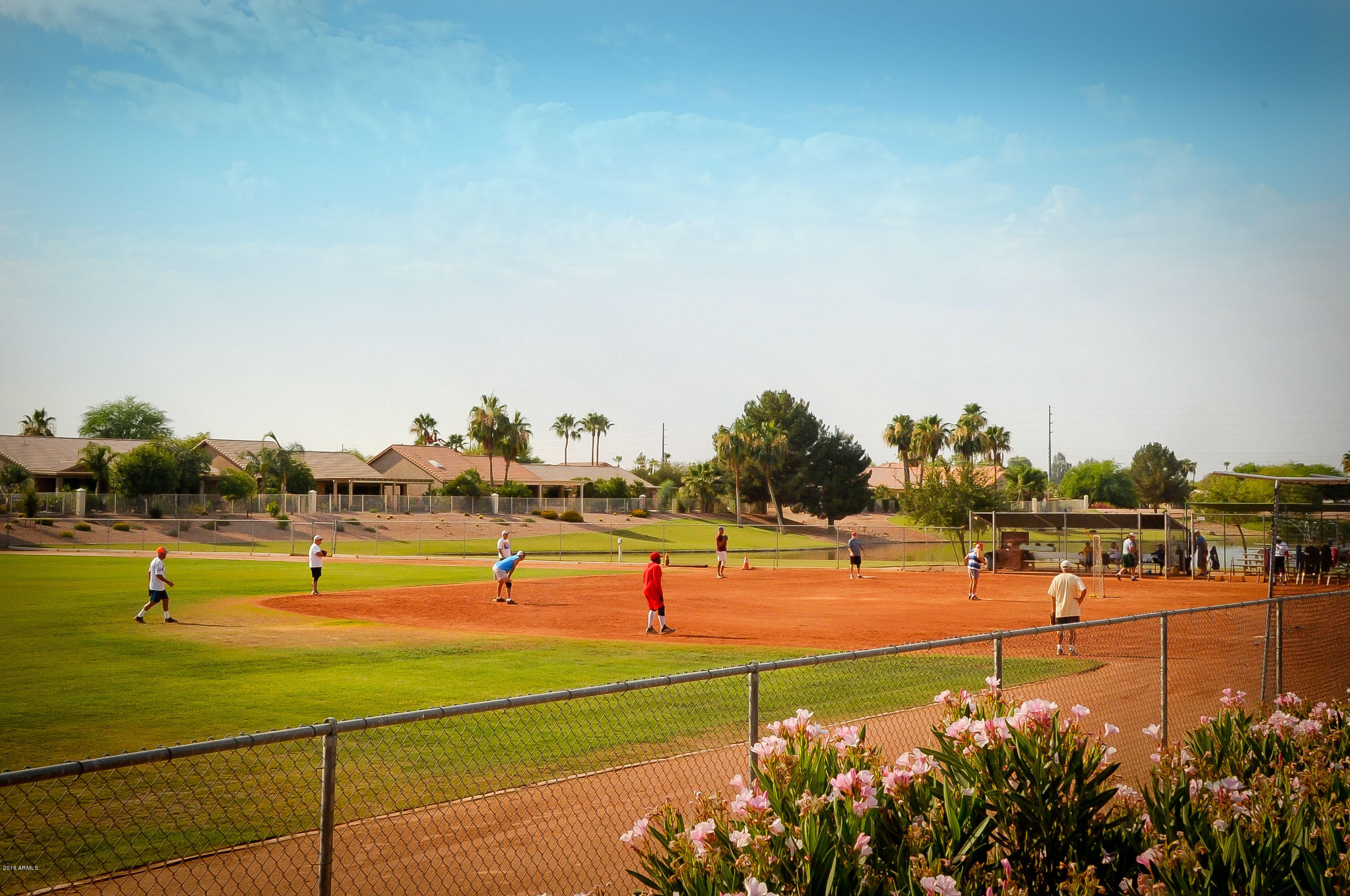 MLS 5817558 10126 E CHAMPAGNE Drive, Sun Lakes, AZ 85248 Sun Lakes AZ Tennis Court