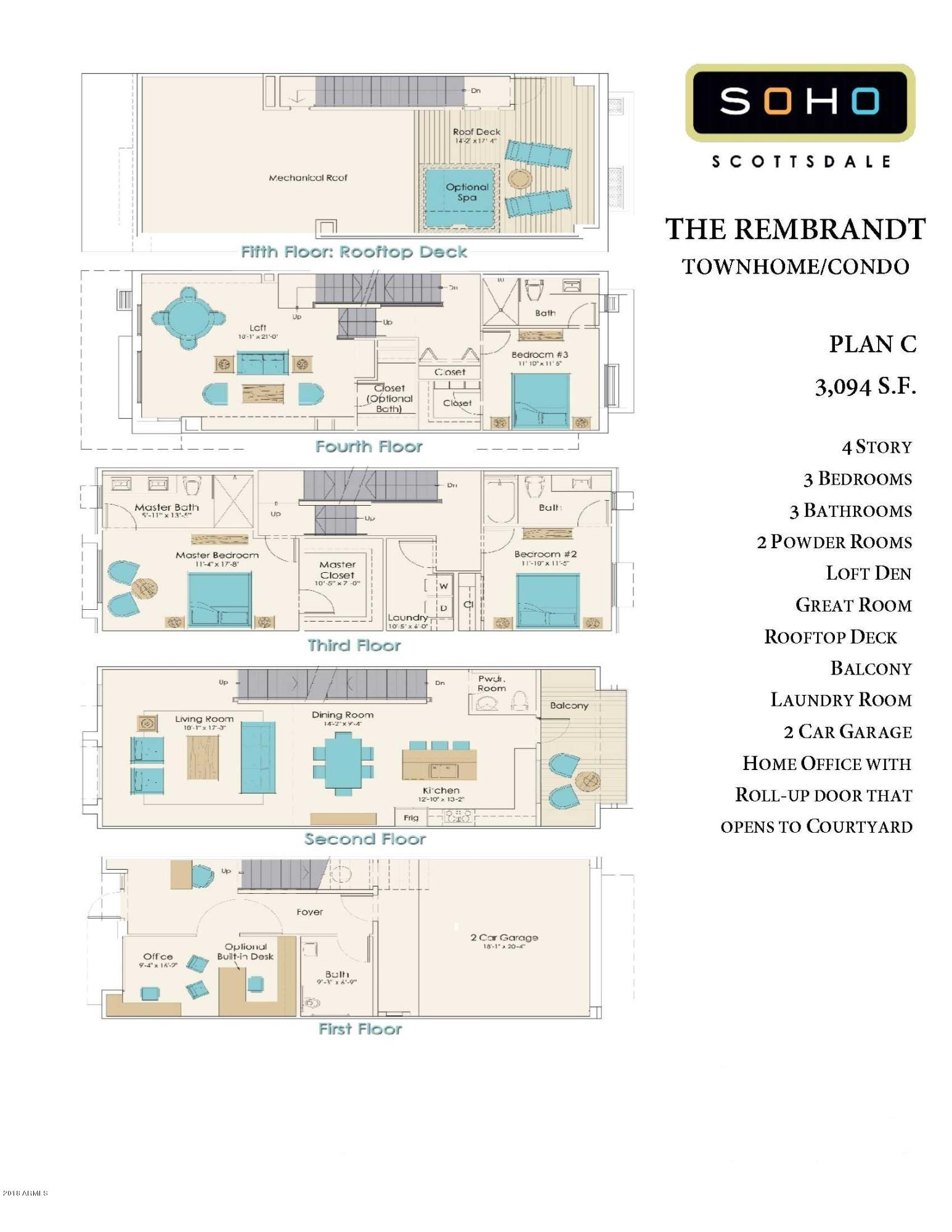 16510 N 92ND Street Unit 1004 Scottsdale, AZ 85260 - MLS #: 5832738