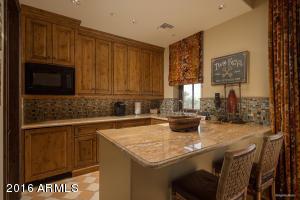 Main house casita kitchenette