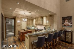 Guest quarters kitchen