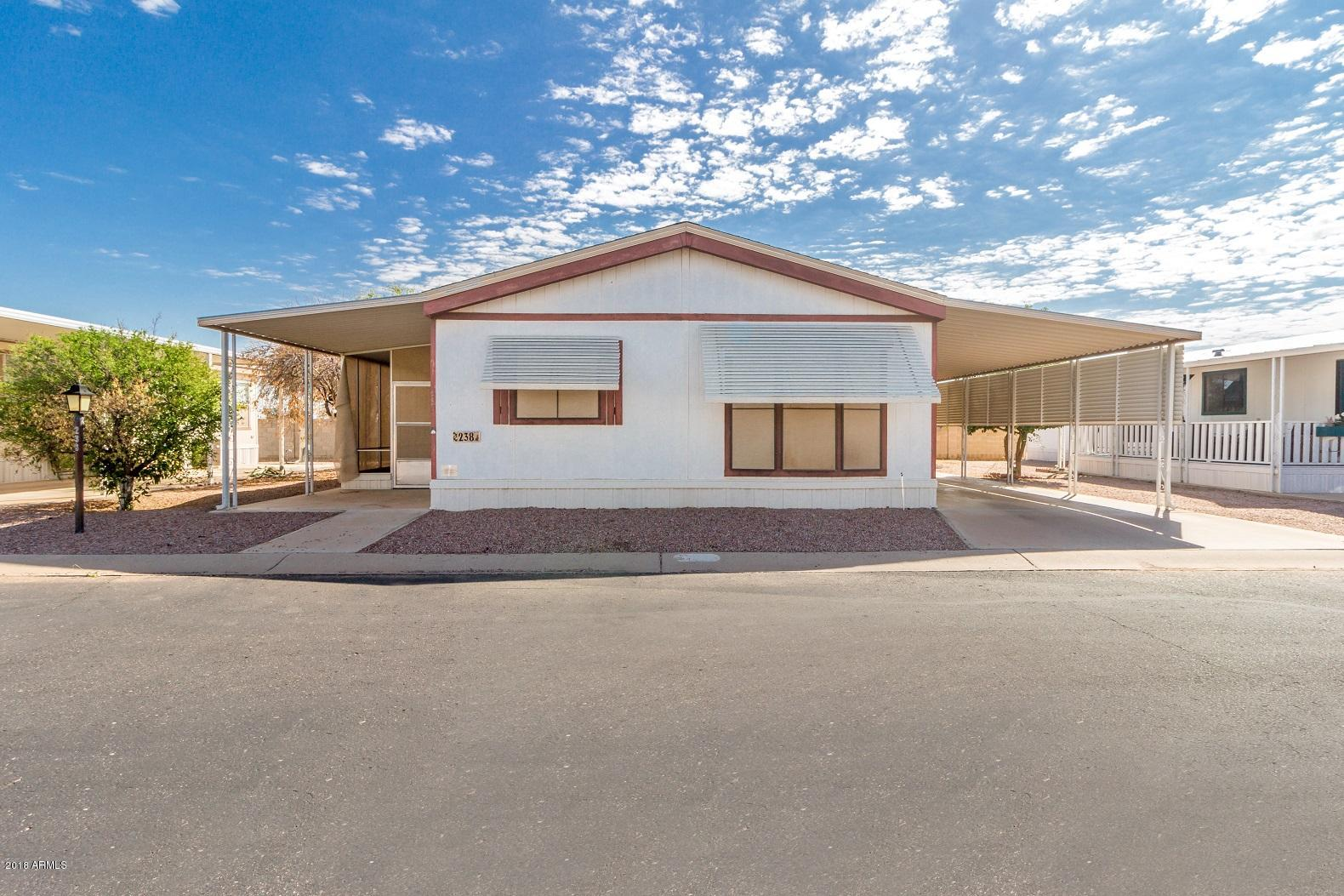 MLS 5824329 450 W Sunwest Drive Unit 238, Casa Grande, AZ Casa Grande AZ Adult Community