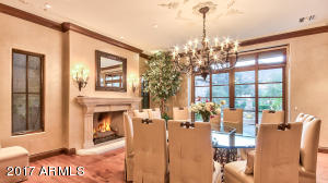 Dining Room and Fireplace