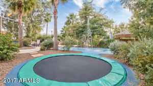 Splash Pad and Trampoline