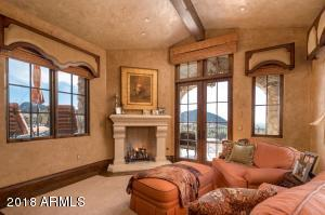 Master Sitting Room with Covered Loggia
