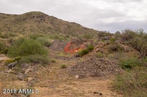 Mine entrance East of property entrance