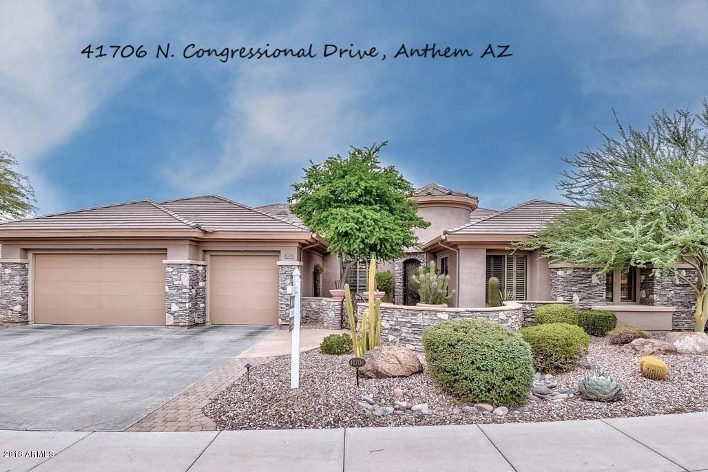 41706 N CONGRESSIONAL Drive, Anthem, Arizona