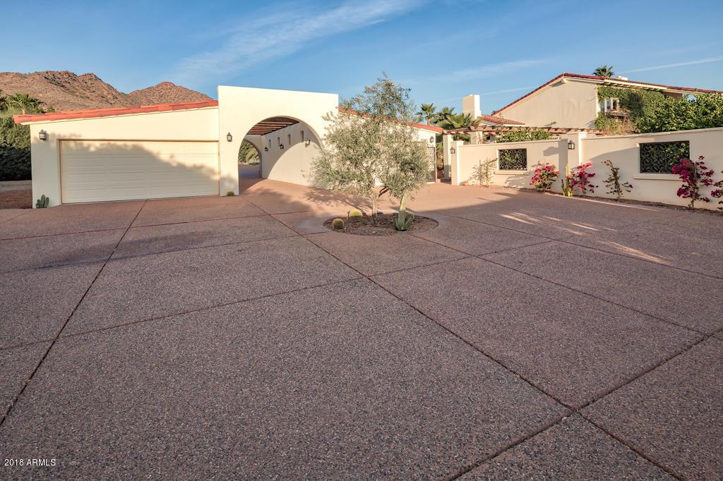 MLS 5856689 5115 N Wilkinson Road, Paradise Valley, AZ 85253 Paradise Valley AZ Tennis Court