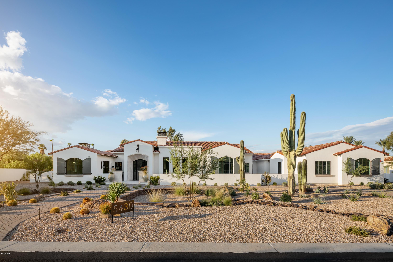 MLS 5828001 5430 E Sapphire Lane, Paradise Valley, AZ 85253 Paradise Valley AZ Custom Home