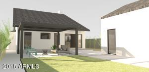 Burgueno Residence 3d backyard