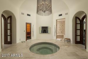 Master bath sauna/steam