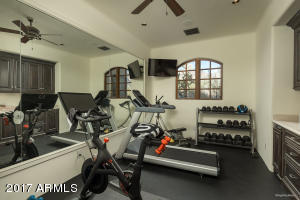 Master exercise room