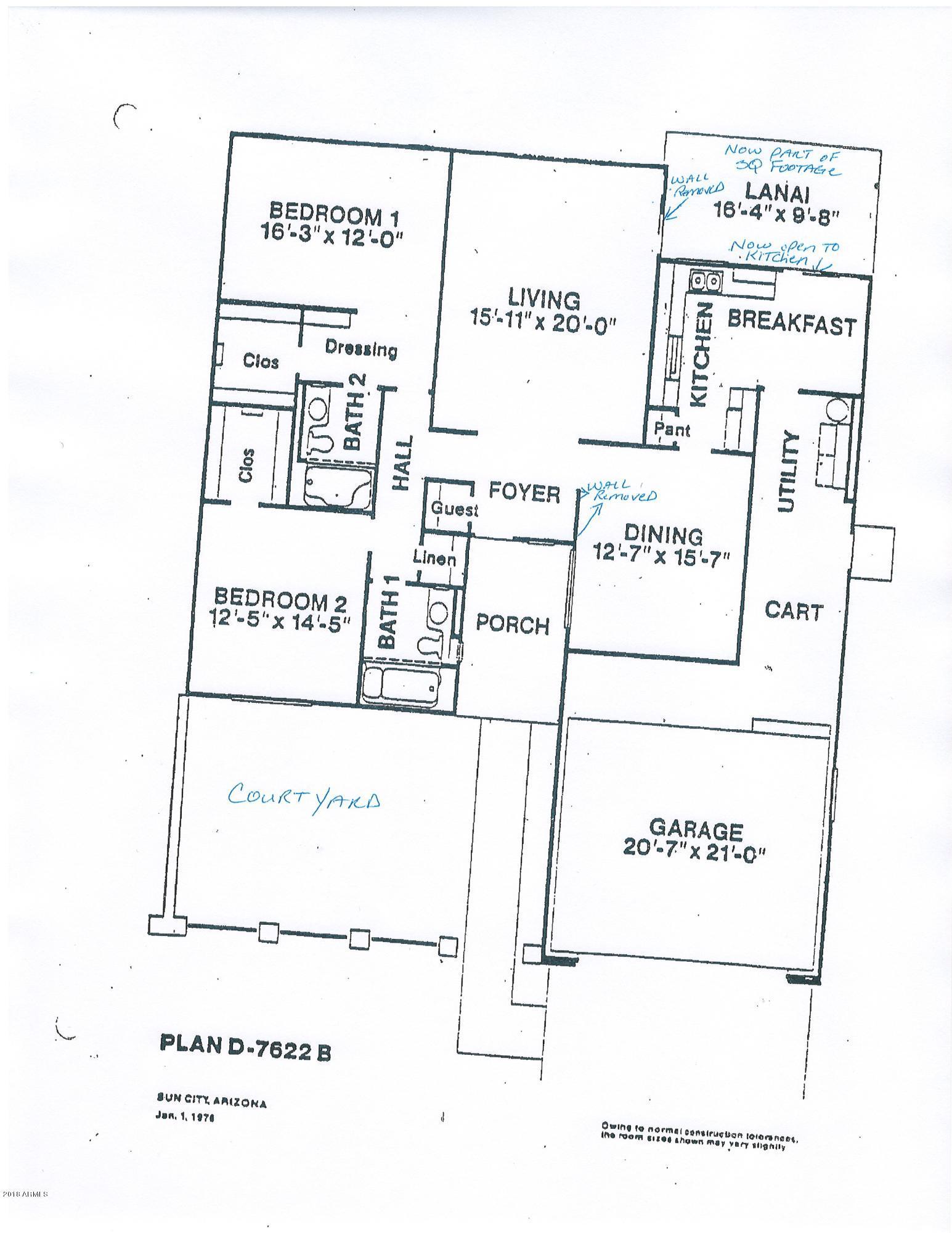 MLS 5836353 12931 W MAPLEWOOD Drive, Sun City West, AZ Sun City West AZ Adult Community