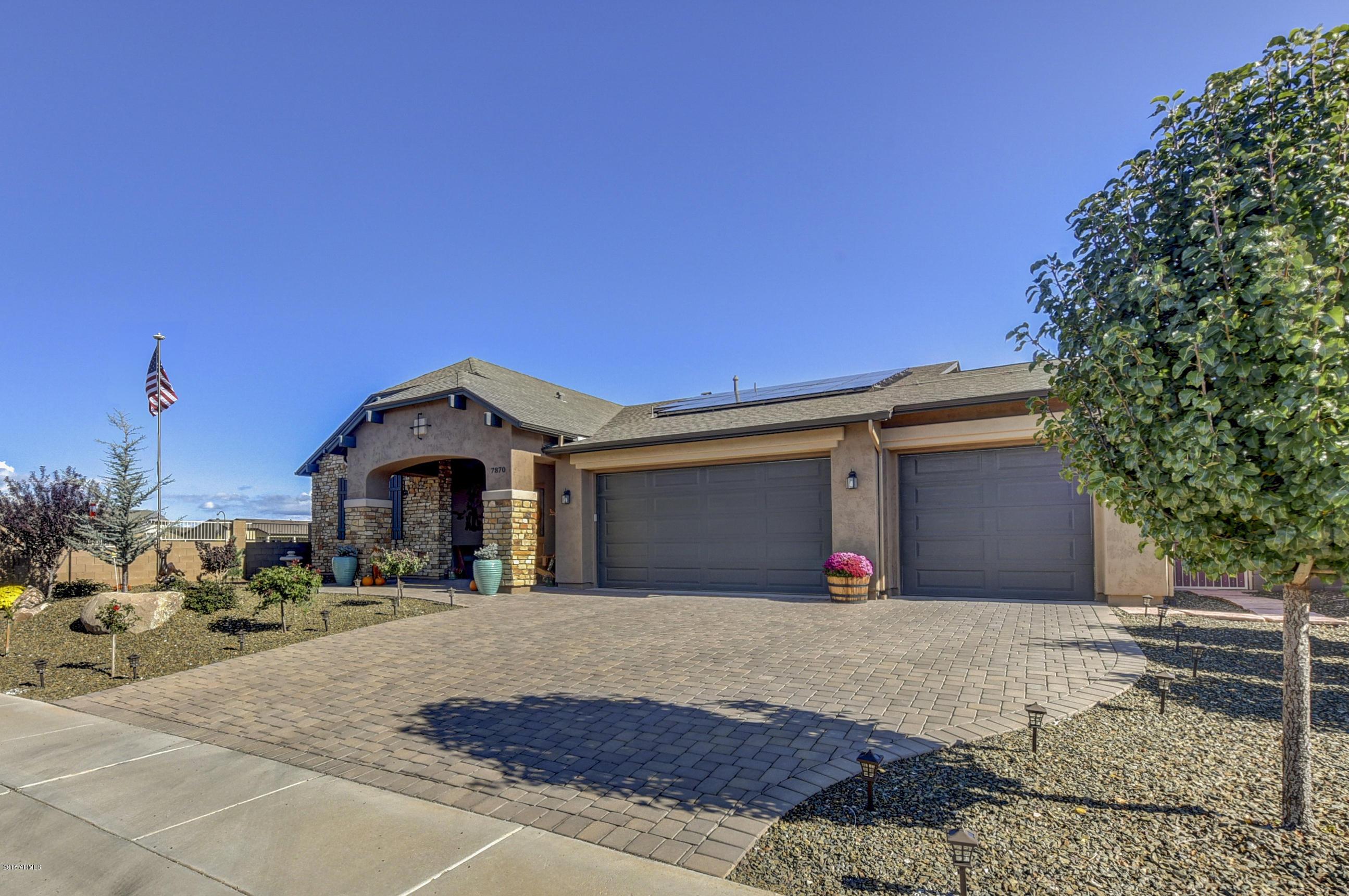 MLS 5837339 7870 E Impala Drive, Prescott Valley, AZ Prescott Valley AZ Newly Built