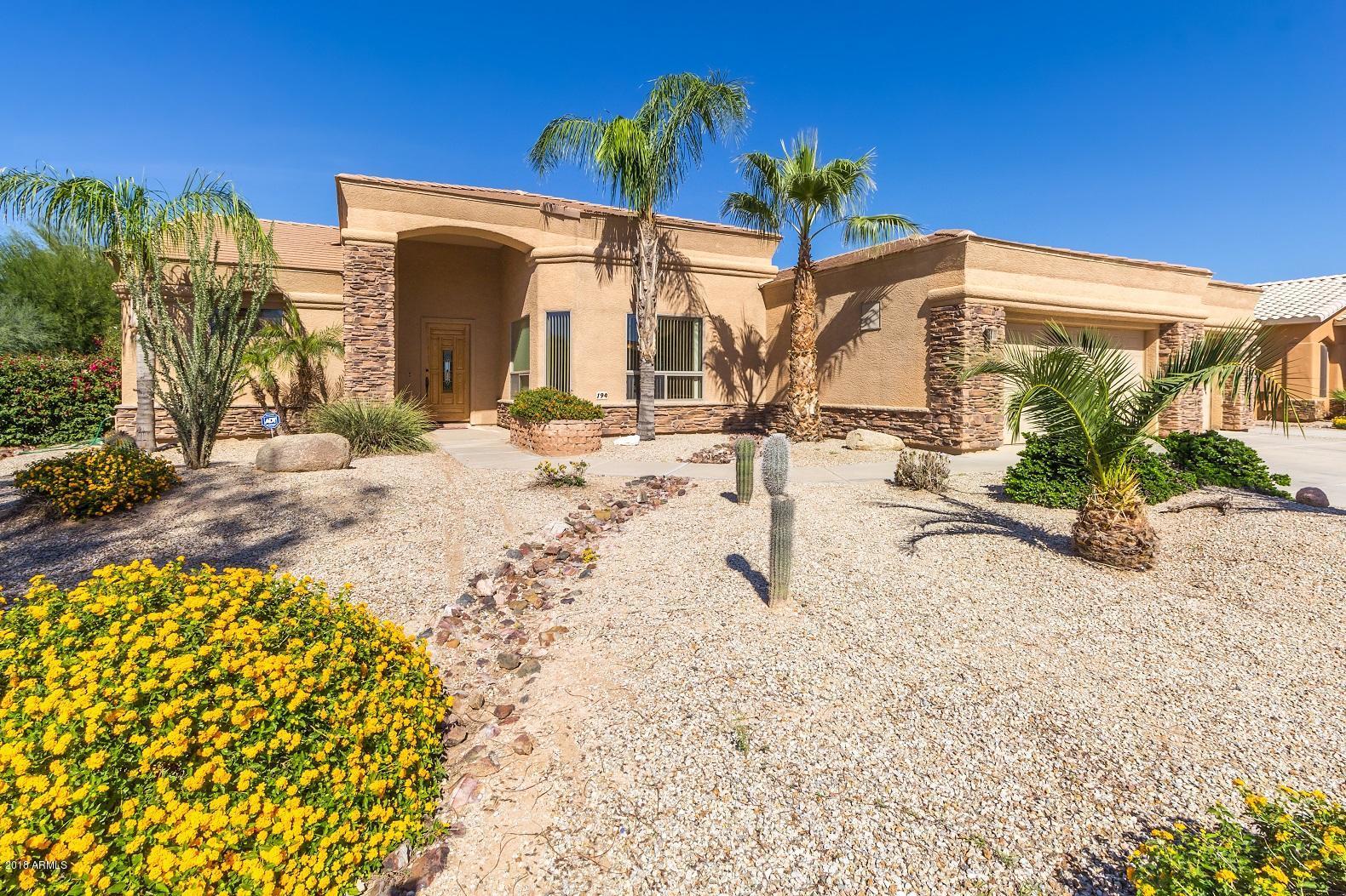 MLS 5840322 194 W CRIMSON SKY Court, Casa Grande, AZ 85122 Casa Grande AZ Three Bedroom